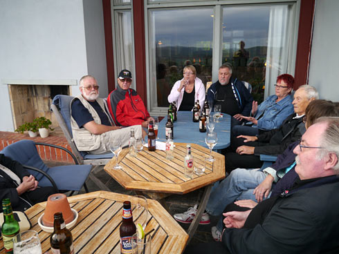 Samling på Siljansnäs Hotell på fredagen.