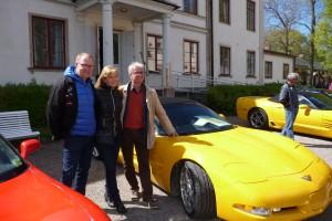 Krister & Susanne Larsson med Lasse Krantz.