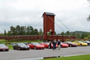 Sveriges längsta biltrafikerade hängbro i trä