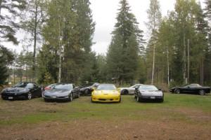 Det går alldeles utmärkt att köra Corvette i terräng.
