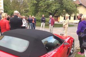 Evert, Sten, Corvette och Motstugan.