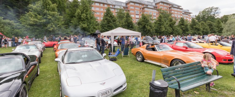 American Car Show Norrtälje 16-07-17