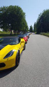 Corvetteparkering i Malmköping