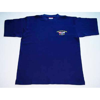 T-shirt med klubblogga