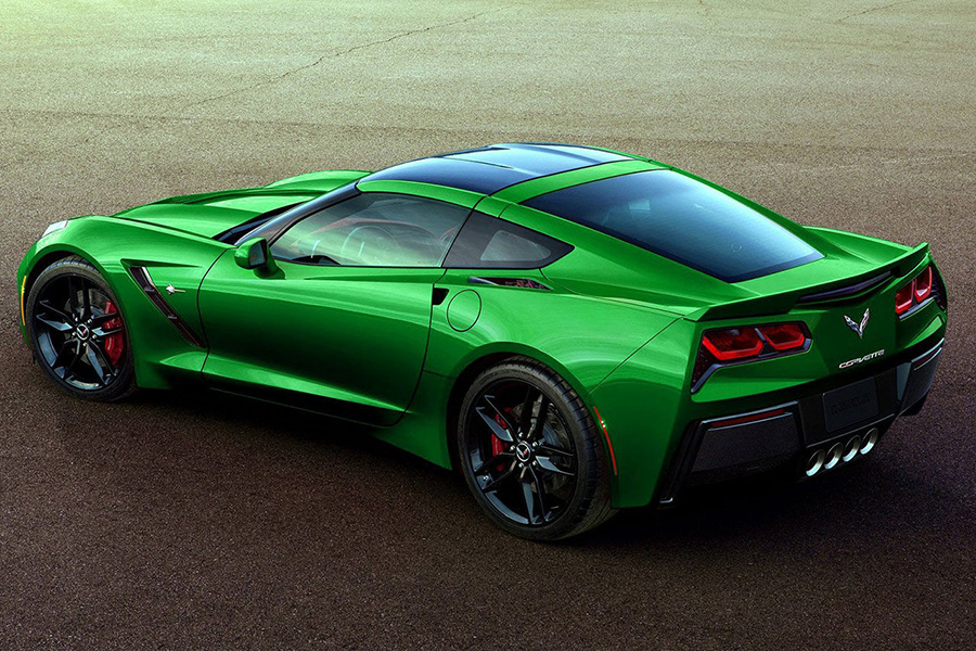Corvette StingRay Green