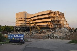 hotel demolition
