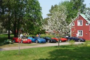 Kända Corvetter i Norrsundet.