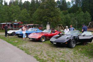 I Säterdalen. Här är det fordonsträff varje tisdag på sommaren.