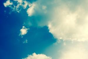 Så här vill man alltid att himlen ska se ut - i alla fall när man åker Corvette